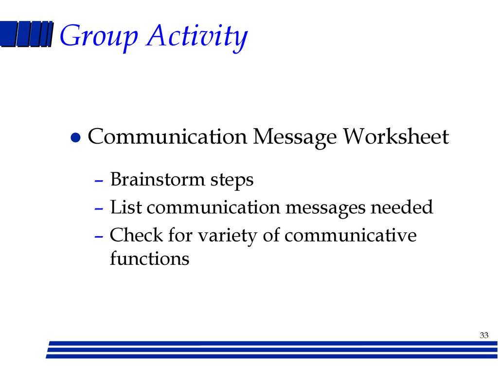 I Messages Worksheet Checks Worksheet