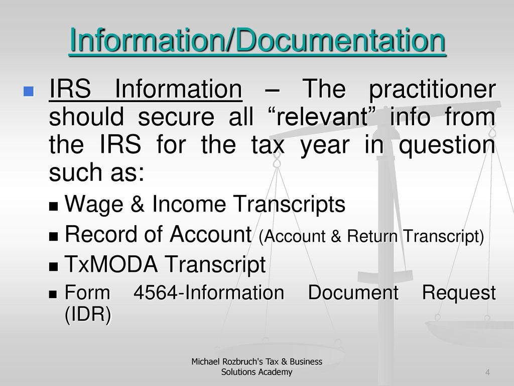 How To Represent Your Client In A 1040 Audit Cp2000 Issues Ppt