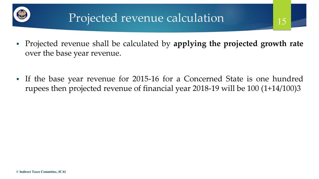 projected revenue calculation