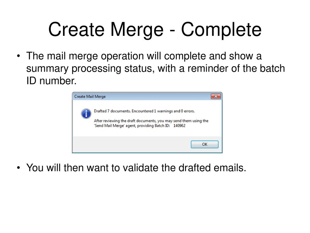 Mail Merge for Lotus Notes and Excel User Guide - ppt download