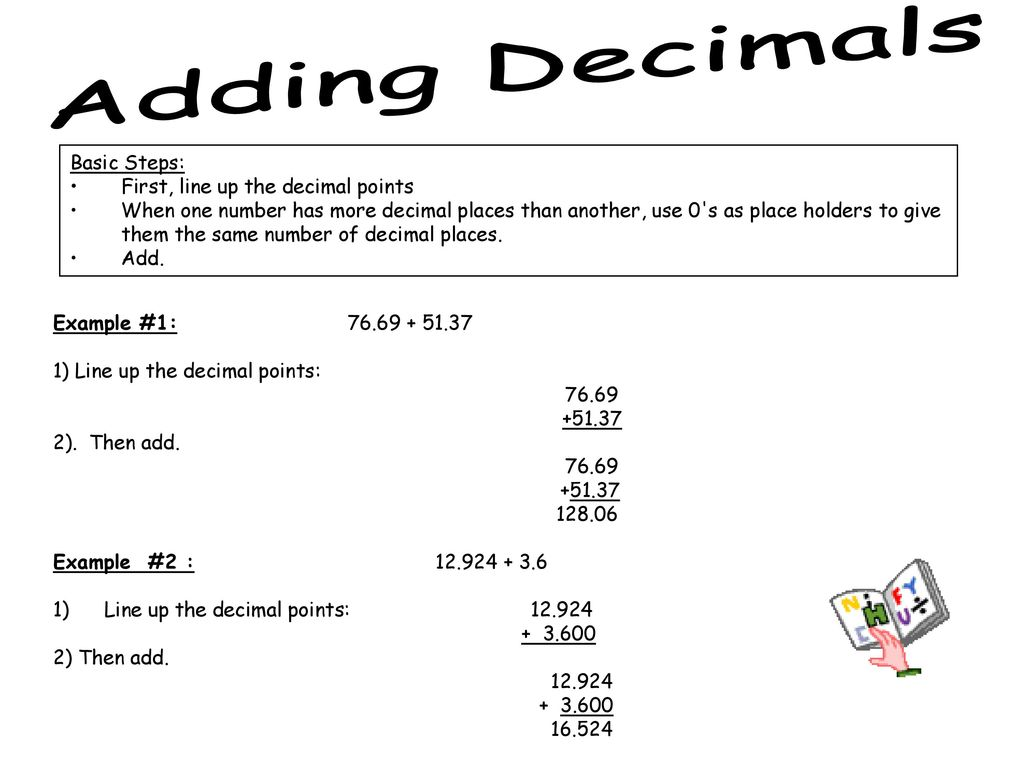 decimals. - ppt download