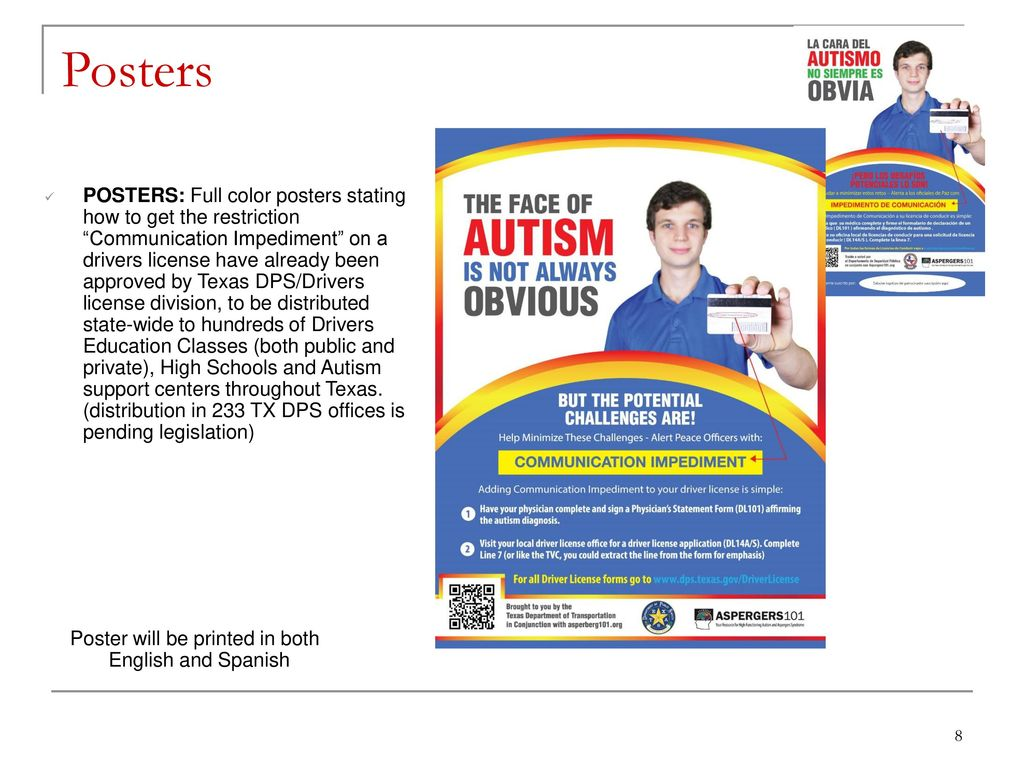 """Driving with Autism"""" A Texas State-Wide Initiative - ppt"""