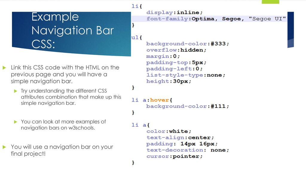 CSS Layouts: Positioning and Navbars - ppt download