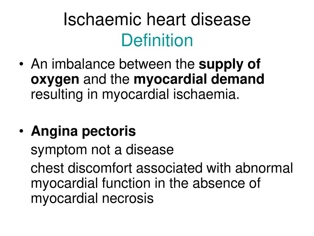 ischaemic heart disease 3 - ppt download