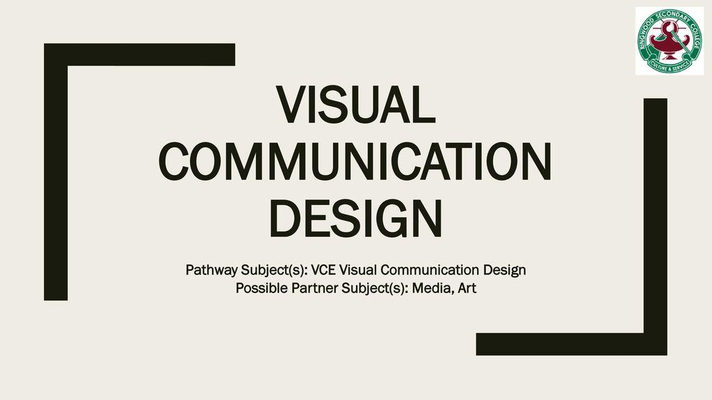 Visual Communication Design Ppt Download
