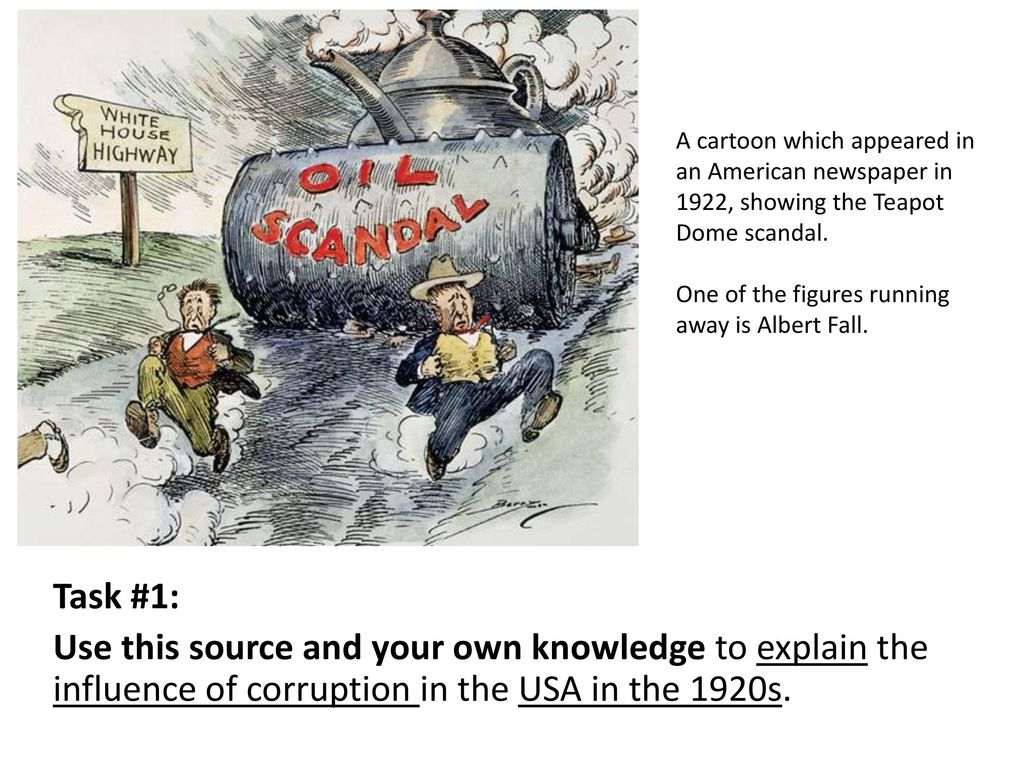 Government Corruption And The Teapot Dome Scandal Ppt Download