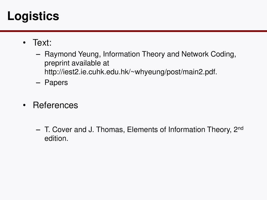 Elements Of Information Theory 2nd Edition Pdf