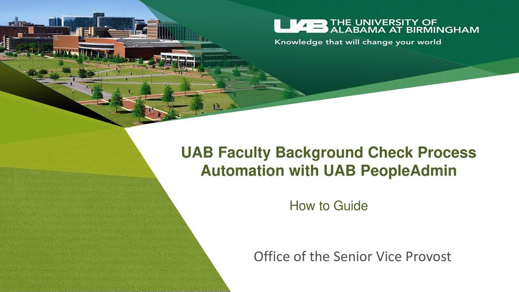 Office of the Senior Vice Provost - ppt download