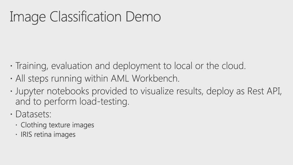 Building image classification using the Microsoft AI platform - ppt