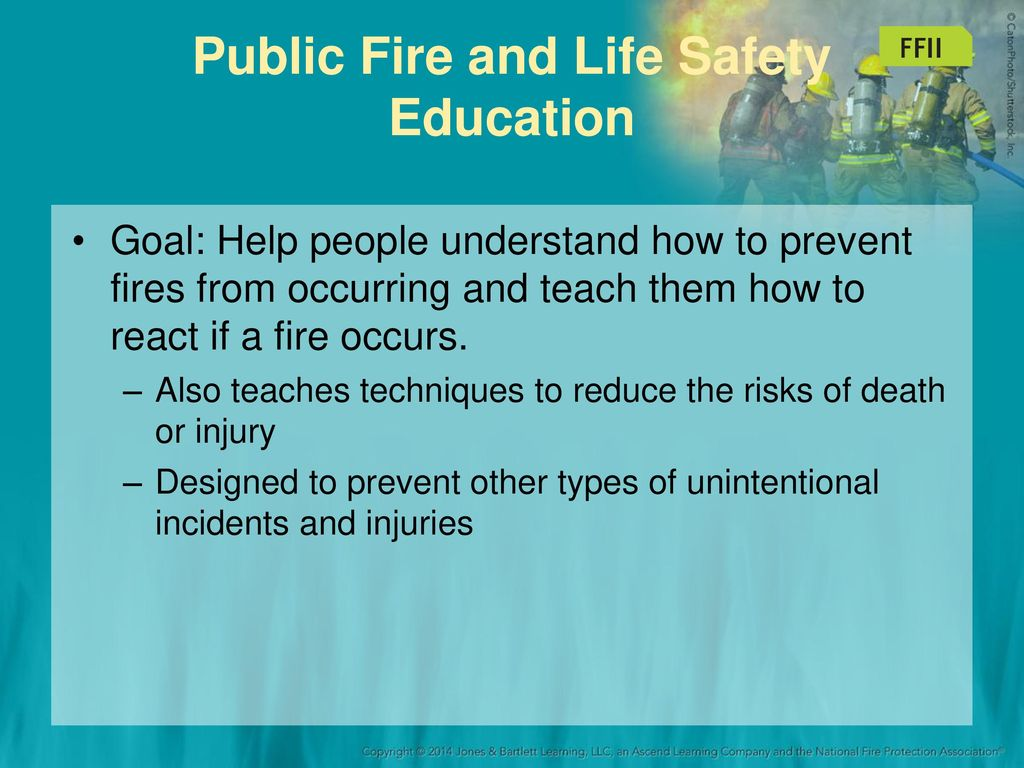 Fire Prevention and Public Education (Fire Fighter II) - ppt download
