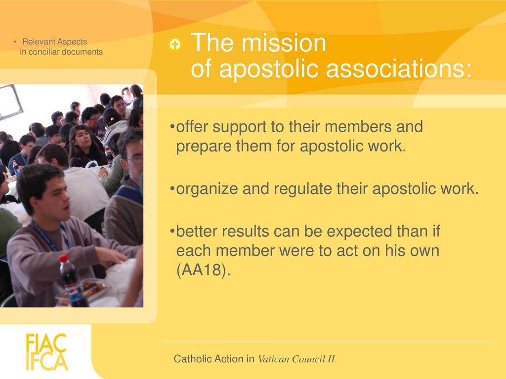 CATHOLIC ACTION in Vatican Council II - ppt download