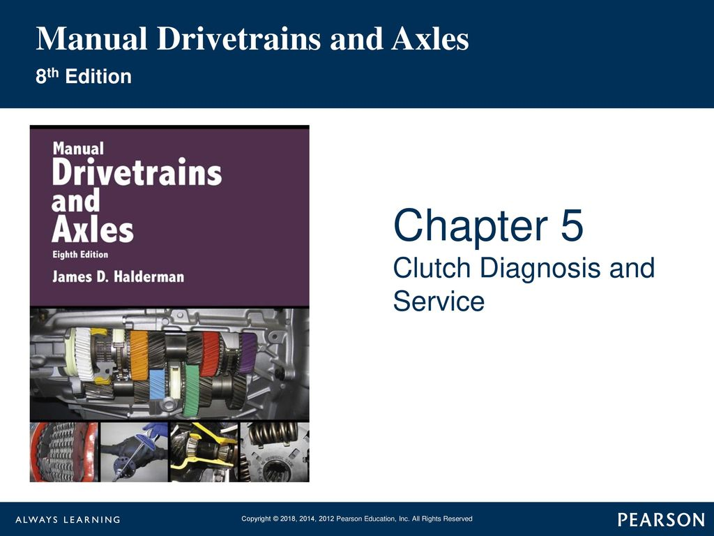Automatic Transmissions and Transaxles 5th Edition Automotive ...