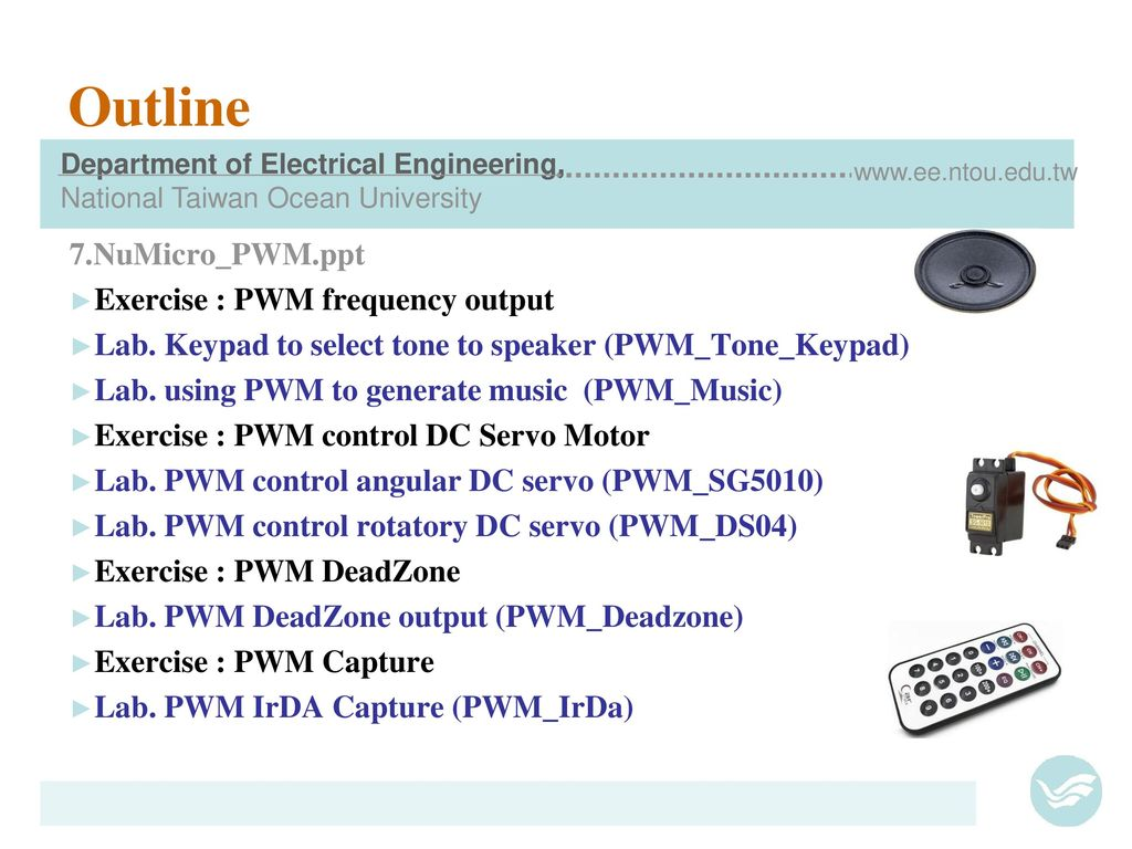 Pulse Width Modulation Ppt Download Behind Selecting Pwm Frequency For Speed Control Of A Dc Motor Numicro Pwmppt Exercise Output