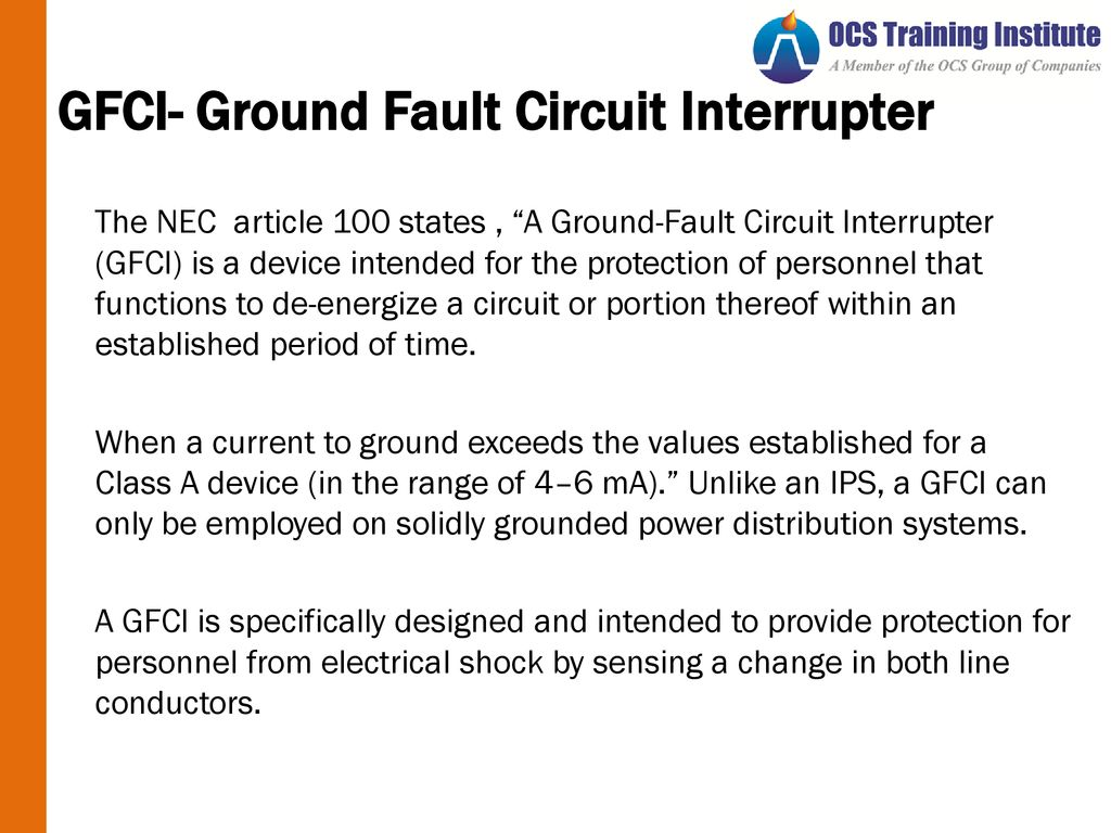 Electrical Safety Pason Energy Ppt Download Groundfault Circuit Interrupter Protects From Electric Shock Gfci 63 Ground Fault