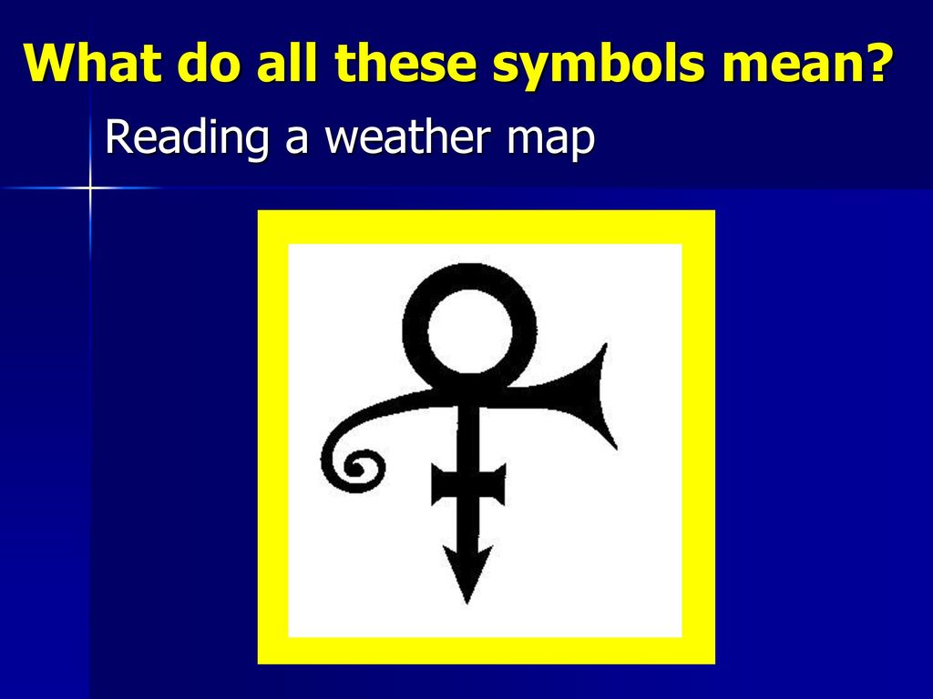 What do all these symbols mean? - ppt download