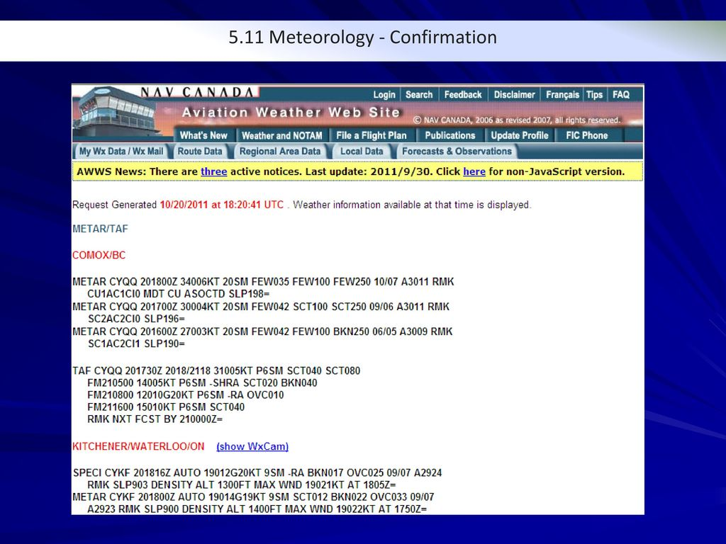 5.11 Meteorological Weather - - ppt download