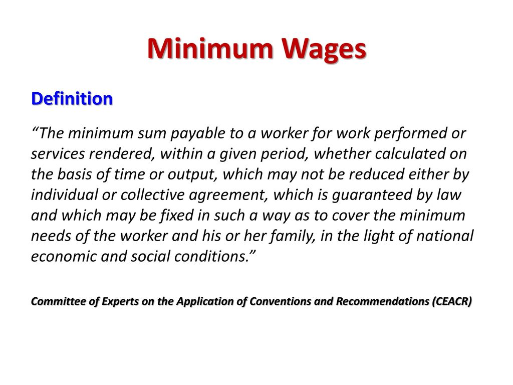 The Wage Issue In Value Chains Ppt Download