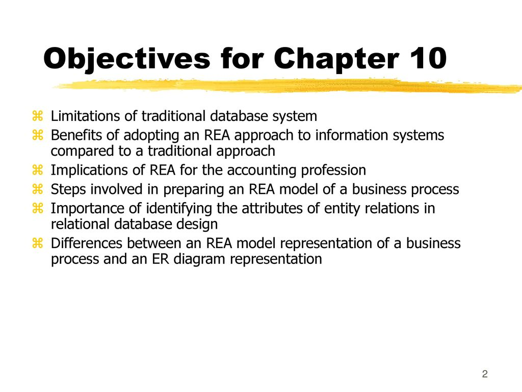 The rea approach to business process modeling ppt download objectives for chapter 10 ccuart Gallery