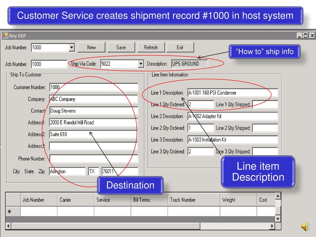 Improving the accuracy and efficiency of your shipping