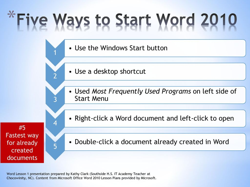 microsoft word 2010 lesson 1 revised february 9 ppt download