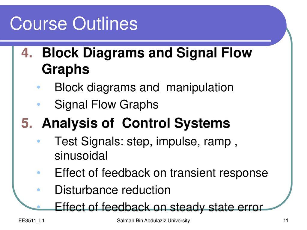 0 Administrative Topics Ppt Download Reduction Of Block Diagrams In Control Systems Salman Bin Abdulaziz University