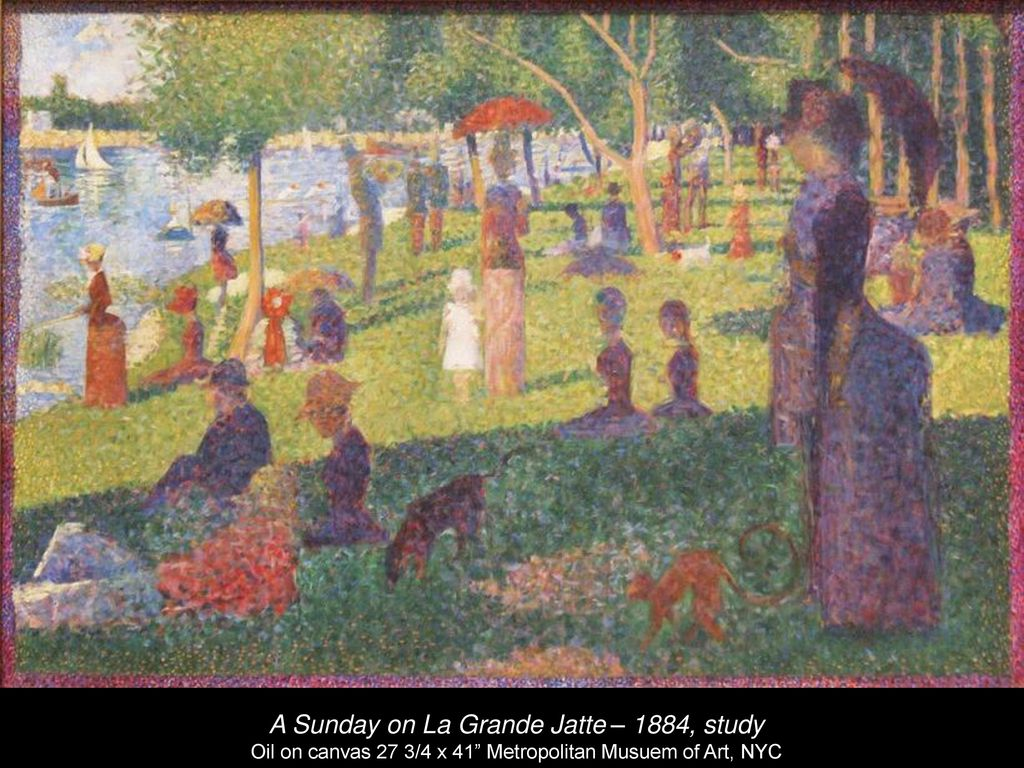 Georges-Pierre Seurat - ppt download