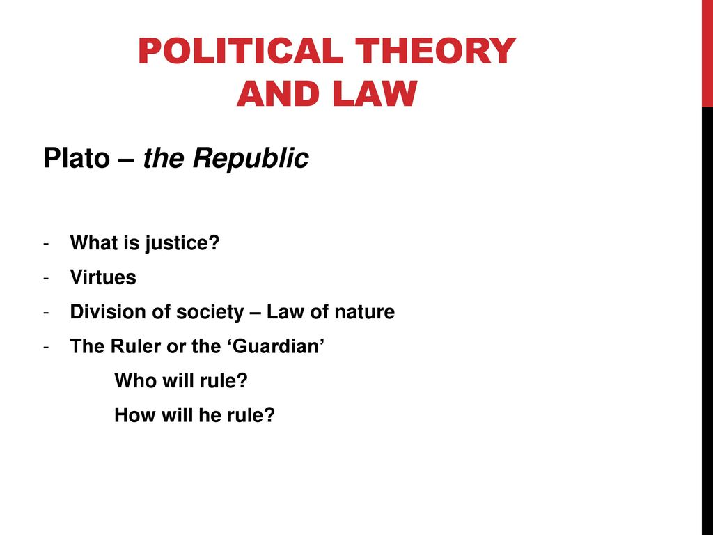 nature of political theory