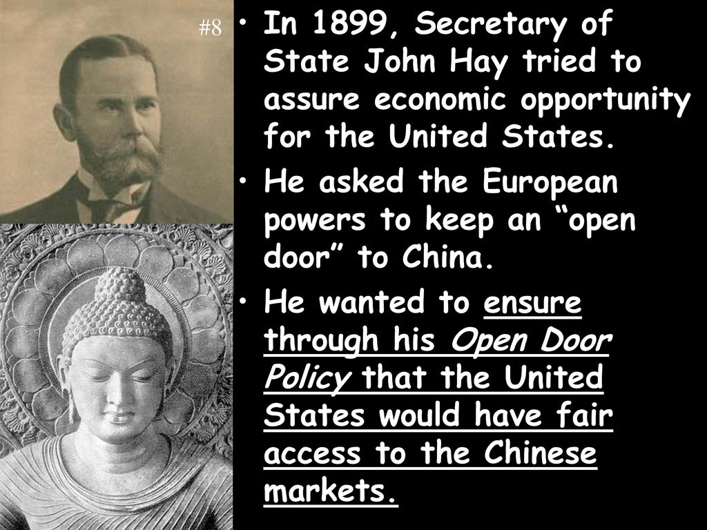 open door policy john hay. Open Door Policy John Hay. He Asked The European Powers To Keep An Hay