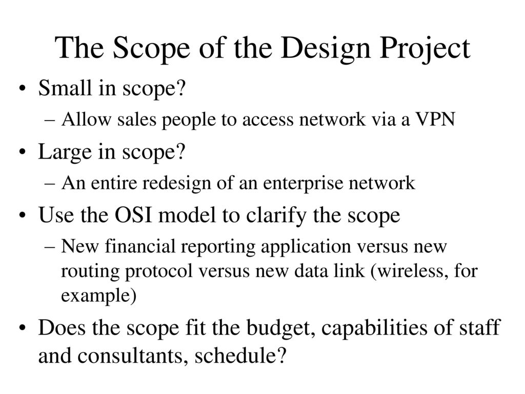 Top-Down Network Design - ppt download