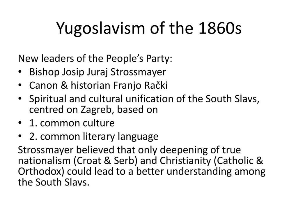 Yugoslavia: History and Disintegration - ppt download