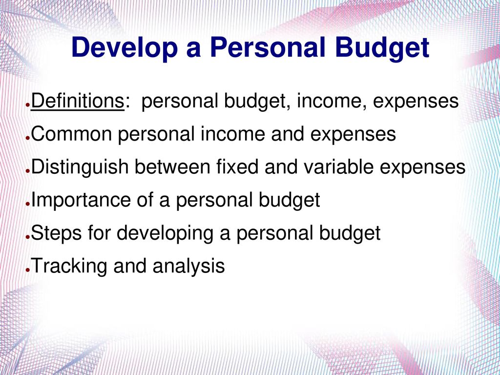 topic 4 allocating your money ppt download