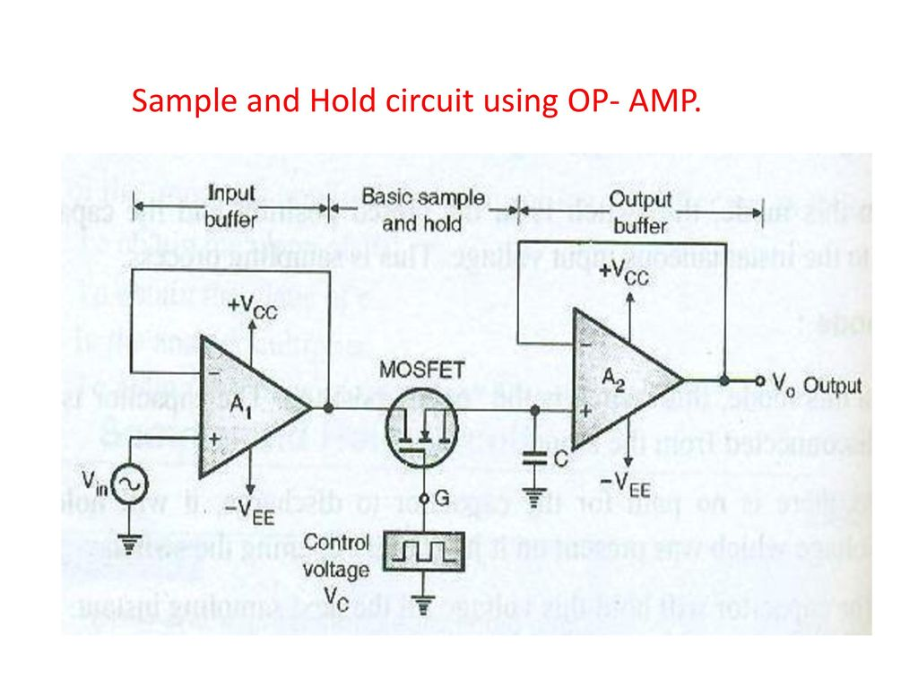 Visit For More Learning Resources Ppt Download Rf Amplifiers Circuit Diagram This Based On The Lm324 Ic 11 Sample And Hold Using Op Amp