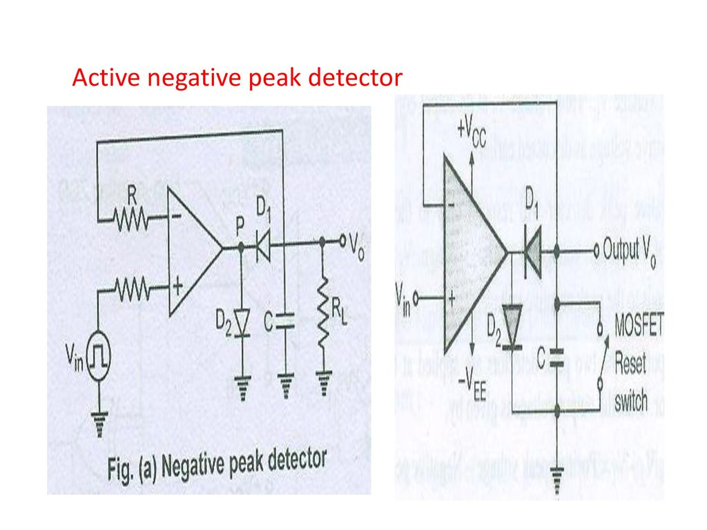 Visit For More Learning Resources Ppt Download Circuit Diagram Op Amp Peak Detector Pictures Using 13 Active Negative