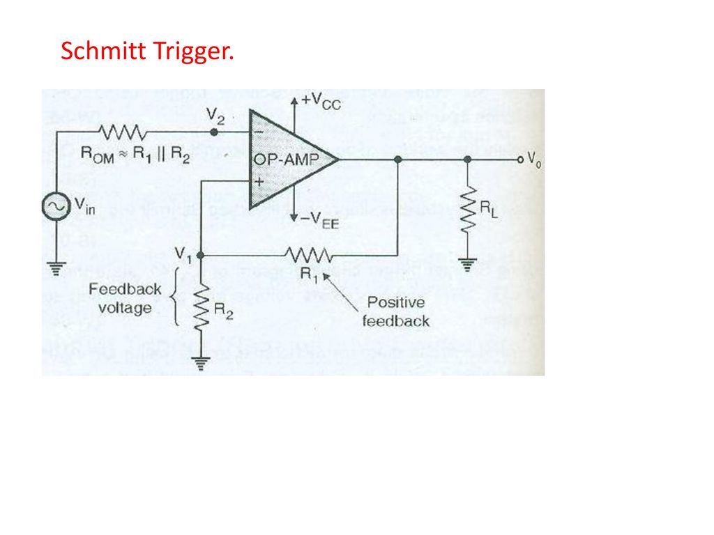 Visit For More Learning Resources Ppt Download Rf Amplifiers Circuit Diagram This Based On The Lm324 Ic 16 Schmitt Trigger