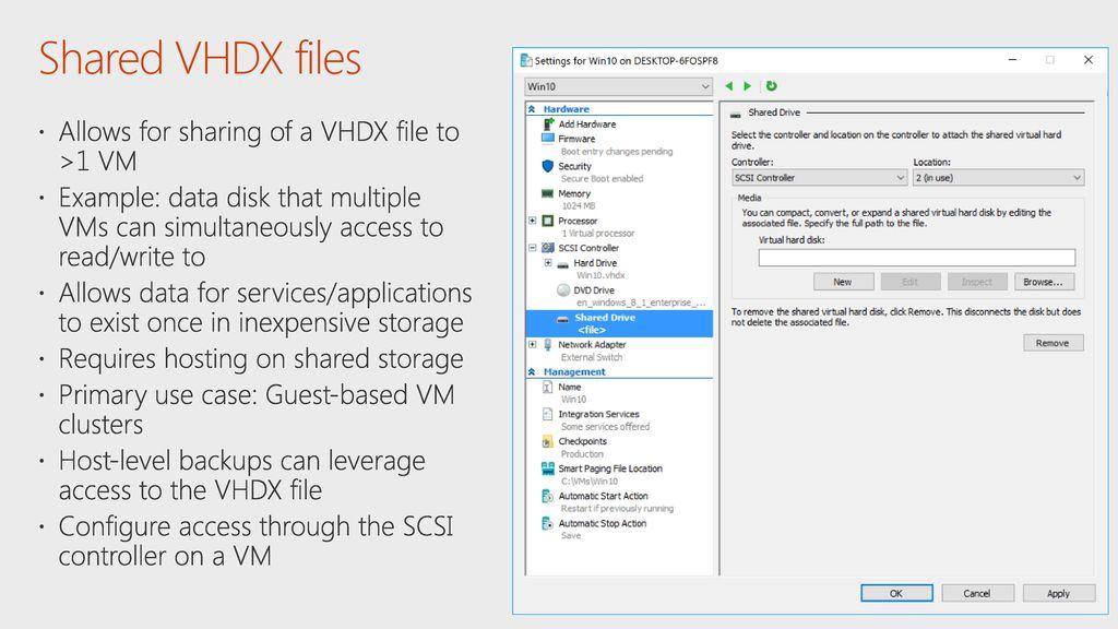 Vhdx File