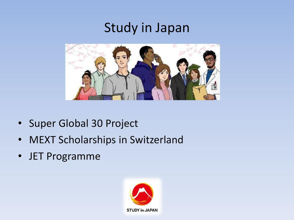 Study in Japan Super Global 30 Project - ppt download