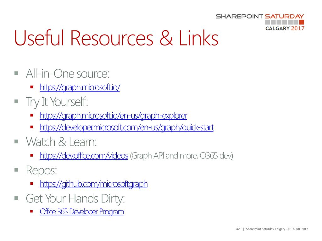 Interacting with O365 using MS Graph API - ppt download
