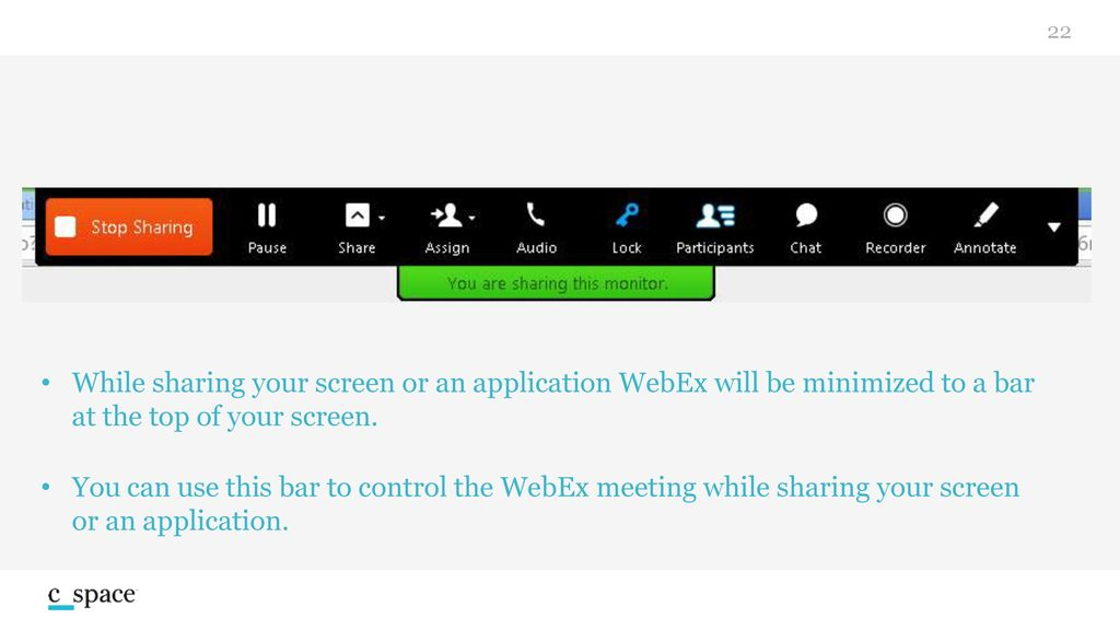 Cisco WebEx  - ppt download