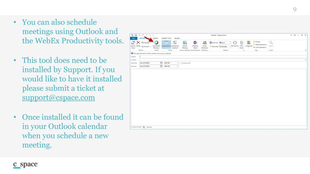 Cisco WebEx  - ppt download
