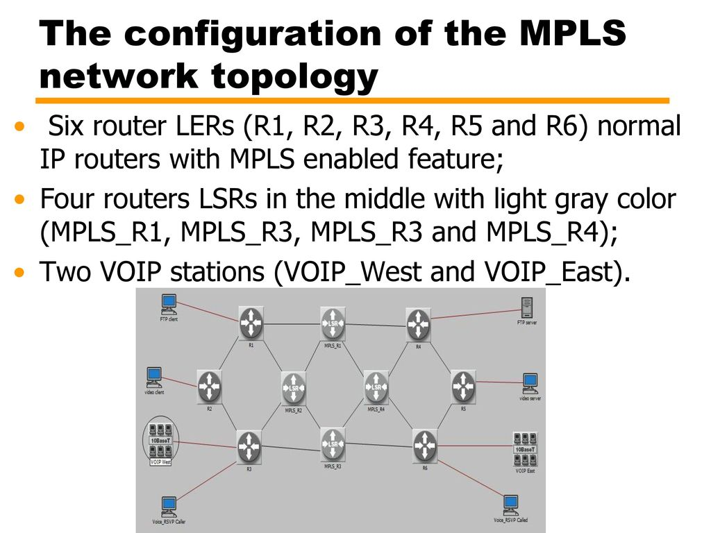Modeling and Simulating MPLS Networks - ppt download