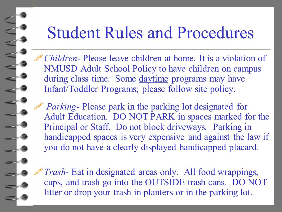 nmusd homework policy