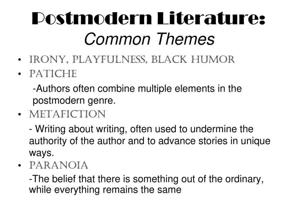 common themes in american literature essay American romanticism, like other literary movements, developed on the heels of romantic movements in europe its beginnings can be traced back to the eighteenth century there in america, it dominated the literary scene from around 1820 to the end of the civil war and the rise of realism.