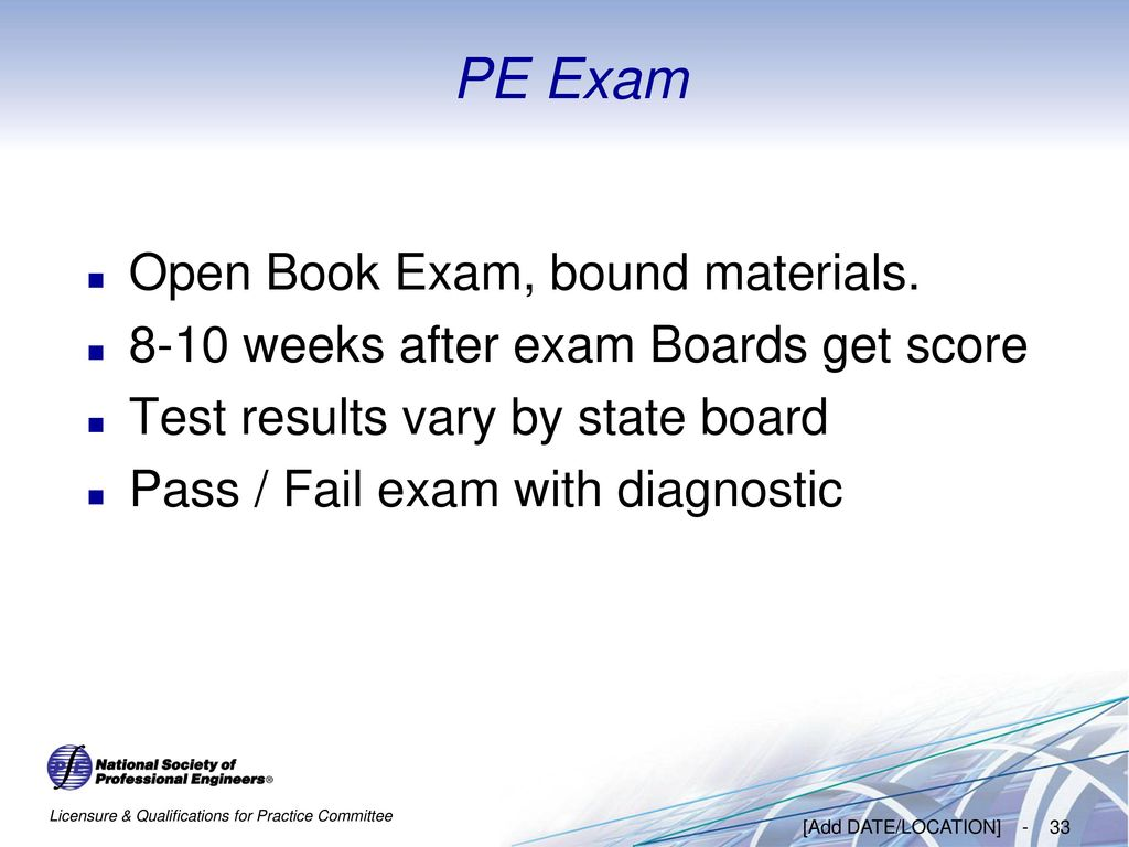 Pe Exam Results >> Importance Of Becoming A Professional Engineer Ppt Download