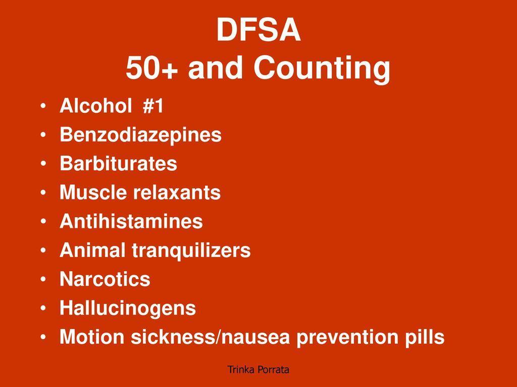 Drug Facilitated Rape  - ppt download