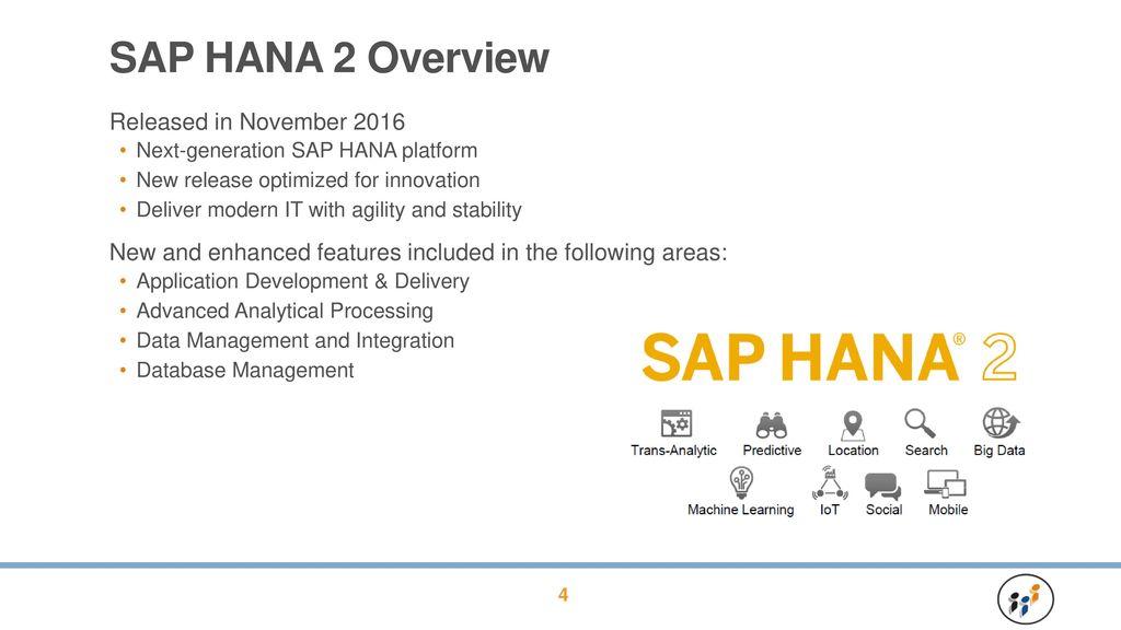 SAP HANA 2, Express Edition: Installation & Setup - ppt download
