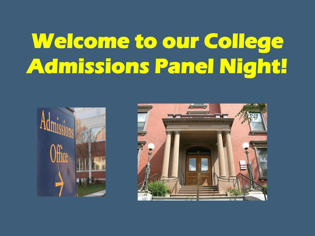 Image result for college admissions panel
