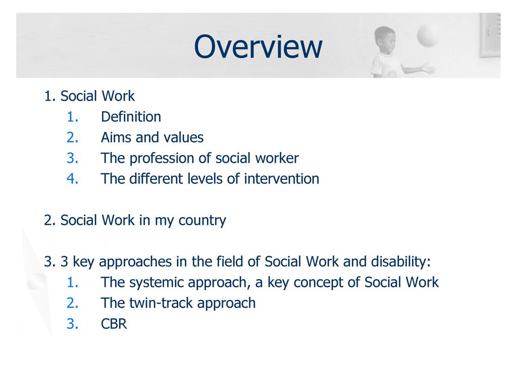 social work and disability - ppt download