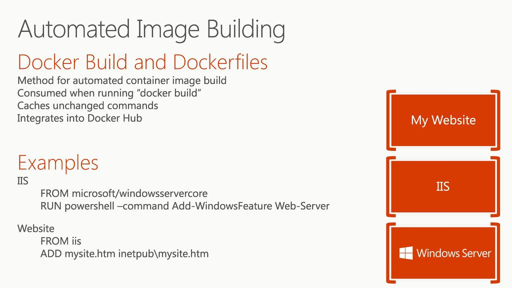 Windows Containers Taylor Brown Principal Lead Program Manager - ppt