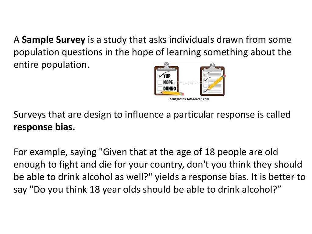 chapter 12 sample surveys ppt download