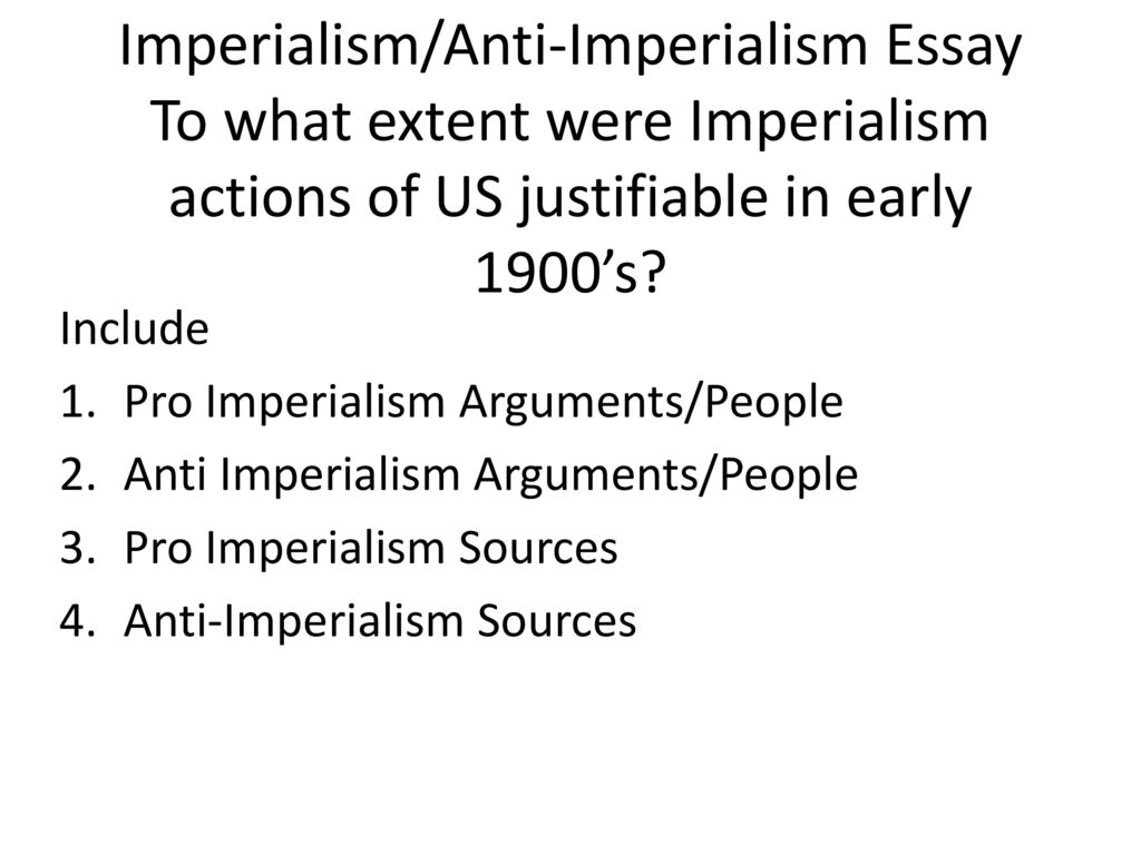 Imperialismantiimperialism Essay To What Extent Were Imperialism   Imperialismantiimperialism Essay  Thesis Statement For Descriptive Essay also Christmas Essay In English  Book Review Service